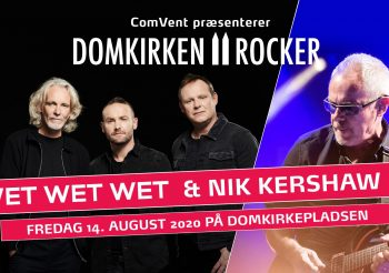 Wet Wet Wet Announce Rescheduled Date For Domkirken Rocker, Denmark.
